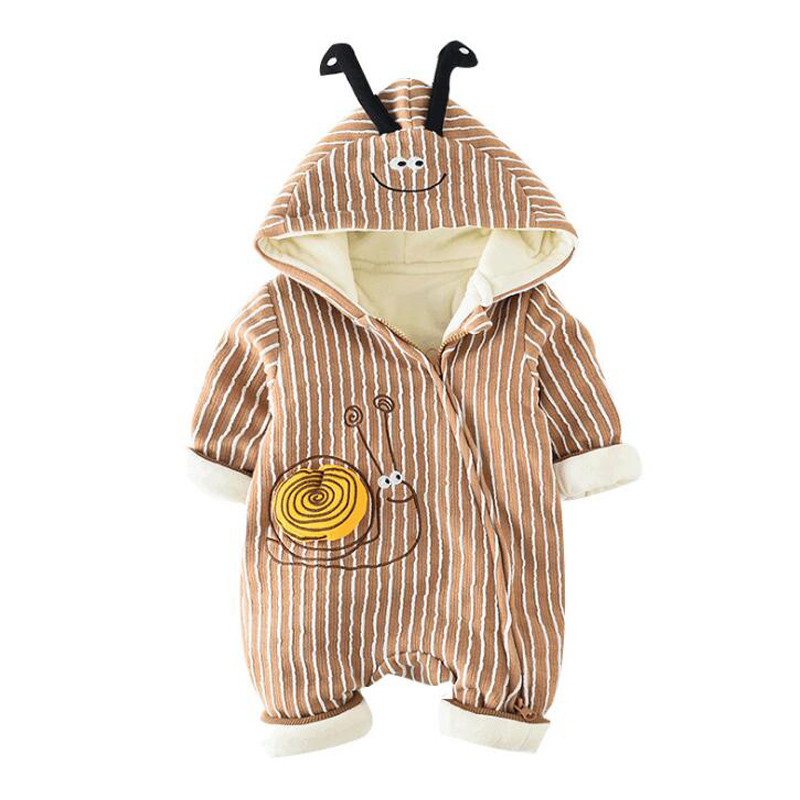 Christmas ROMPERS for NEWBORNS BABY BOYS GIRLS Cartoon Jumpsuit Romper KIDS Winter Overalls Infant Pajamas Clothes Baby Rompers baby winter warm velvet overalls 6m 4years jeans overalls infant long pants baby toddler girls boys jumpsuit rompers 1850