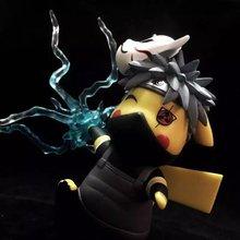 НОВЫЙ горячий 15 см Пикачу косплей Хатаке Какаши наруто коллекционеров фигурку игрушки Рождественский подарок кукла с коробкой