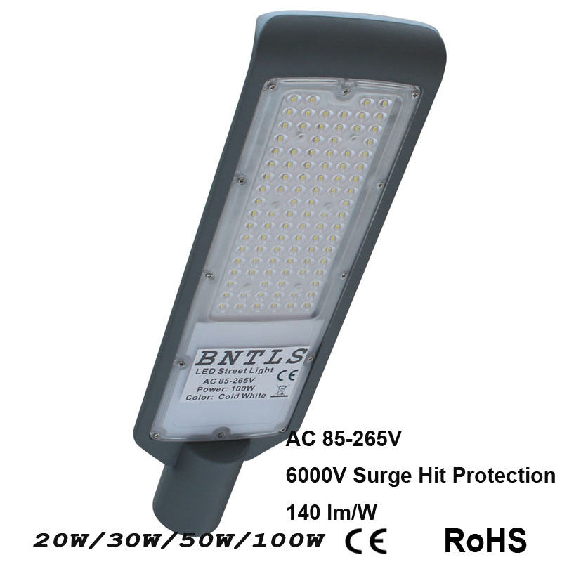 LED street light 30W100W IP65 AC85V-265V