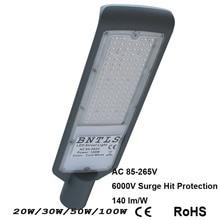 Светодиодный уличном фонарном 30W100W IP65 AC85V-265V