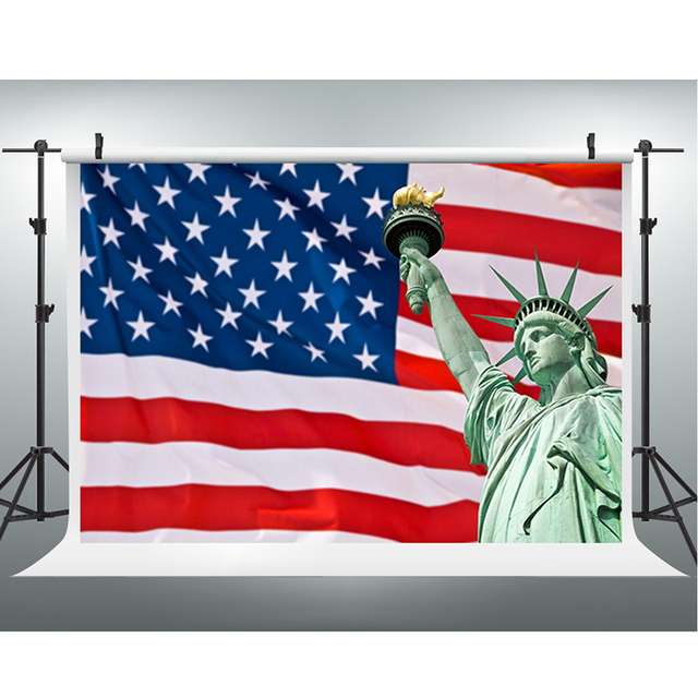 independence day photography backdrops statue liberty computer
