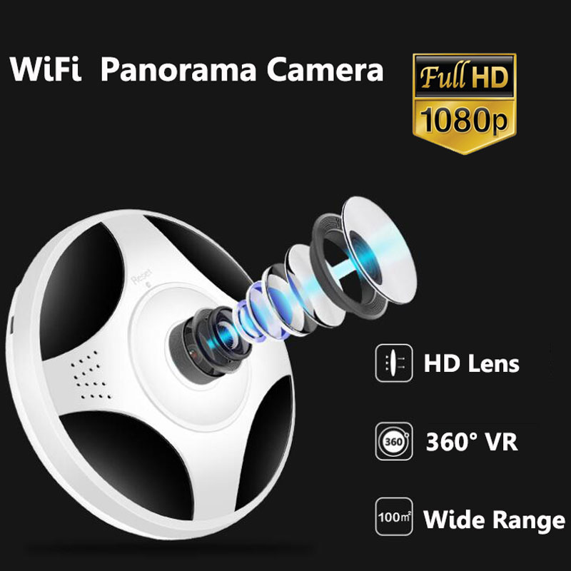 360  Camera  Baby Pet monitor home security indoor Anti-theft Detection Alarm WIFI AP connect Panoramic Surveillance 1080P360  Camera  Baby Pet monitor home security indoor Anti-theft Detection Alarm WIFI AP connect Panoramic Surveillance 1080P