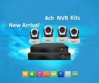 Vstarcam NVR KITS Plug And Play 4CH 1080P Wireless NVR Kit P2P 720P Indoor Security IP