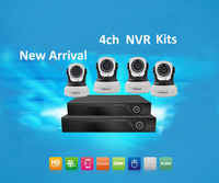 Vstarcam NVR KITS Plug And Play 4CH 1080P Wireless NVR Kit P2P 720P Indoor Security IP