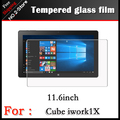 "High quality 2.5D radian Tempered Glass film for Cube iwork1x Tablet 11.6"" Anti-shatter front Screen protector Protective film"