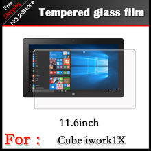 Top quality 2.5D radian Tempered Glass movie for Dice iwork1x Pill 11.6″ Anti-shatter entrance Display protector Protecting movie