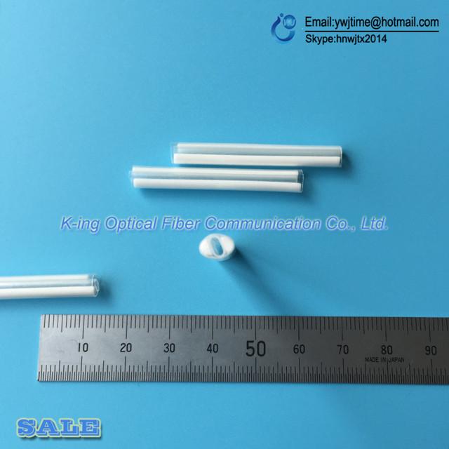 Tubo de protección de la cinta de fibra de fibra óptica 12-core 100 UNIDS doble de fibra cerámica de calor tubería del encogimiento del tubo de protección