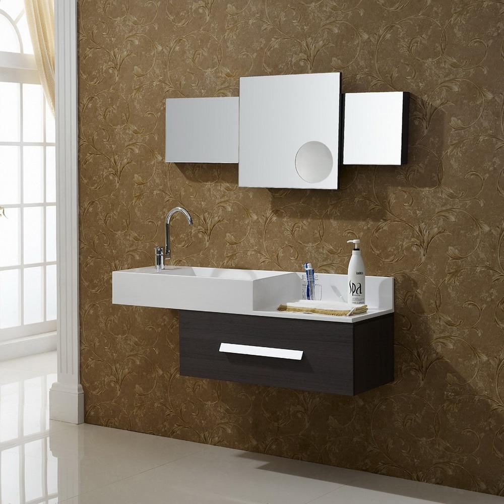 dory wall sink vanity unit teak top affordable mounted narrow hunky inspirations vanities cabinets bathroom