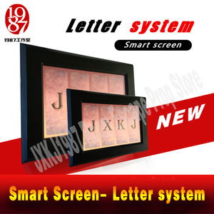 Image 3 - Takagism real life escape zimmer prop alphabet brief system smart screen finden code entsperren adventurer spiel puzzle gerät jxkj1987