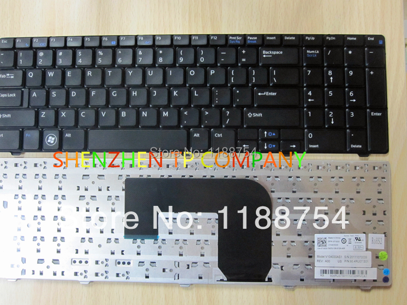 Brand New laptop keyboard  For DELL vostro 3700 Service US version BLACK replacement