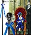 anime Black Butler 2 Kuroshitsuji Ciel Phantomhive crutch stick wand cosplay Props Ciel weapen sceptre