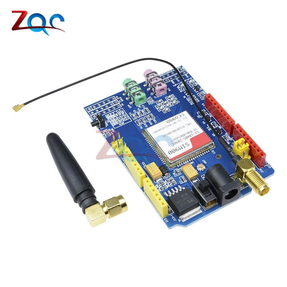 SIM900 GPRS/GSM Shield Development Board Quad-Band Module for arduino  Compatible with UNO MEGA 2560 850/900/1800/1900 MHz