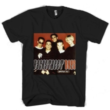 Backstreet Boys Mens Tee T-Shirt Printing Casual T Shirt MenS Tees Men Brand Printed 100% Cotton Top Plus Size
