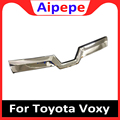 Высокое качество ABS Хром Передняя Верхняя решетка отделка решетки отделка рамы для Toyota Voxy Ноя R80 2017 2018 2019