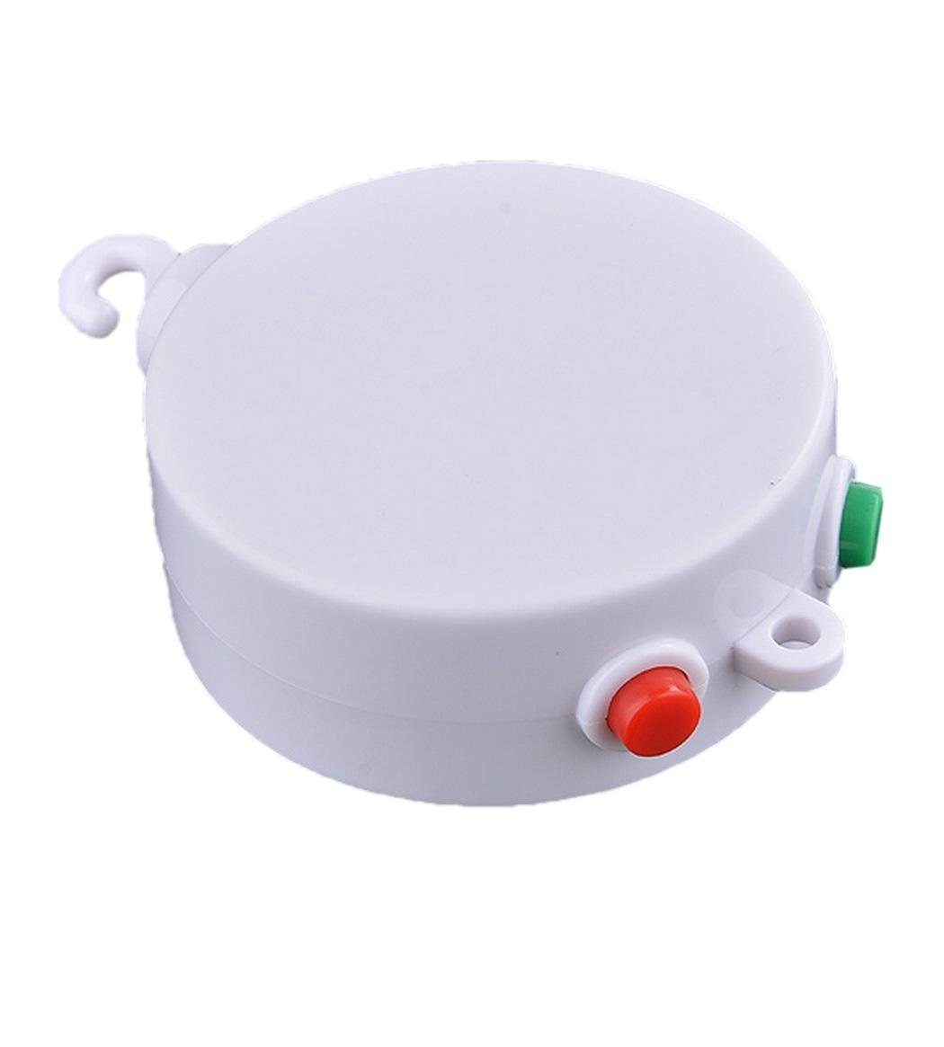 Baby Mobile Crib Bed Bell Electric Autorotation Music White Box 12 Melodies Song