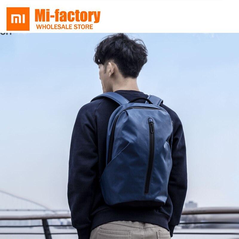Nouveau Xiaomi 90 Anti-voleur USB sac à dos livre sacs lumineux pour tout-rond sac à dos sac à dos décontracté ordinateur portable mode homme sacs à dos
