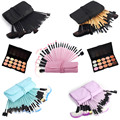 New Fashion 15 Colors Blusher Concealer Palette + 32pcs Powder Eyeliner Eyelash Lip Makeup Brush Facial Cosmetic Set beauty tool
