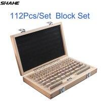 Шахе 112 шт./компл. 1 класса 0 класс осмотр блок калибра Тесты суппорт блоки измерительных приборов