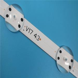 """Image 3 - Retroiluminación Led, 1 juego = 5 piezas, SUNG WE1 55V0 E74739 94V 0 43 """"V17 ART3 2867 Rev0.3 1 10Led 85cm"""