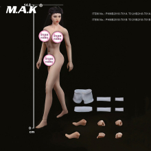 TBLeague 1/12 Scale Sexy Super-Flexible Female Seamless Body Head Sculpt Doll Model Pale/Suntan Colors for Fans Collection Gifts