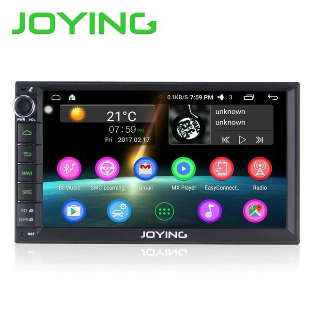 Najnowszy JOYING 2 GB RAM 32G ROM Pokój 2Din Android 6.0 Universal Car Radio Audio Stereo Nawigacji GPS Odtwarzacz Multimedialny Taśmy rejestrator