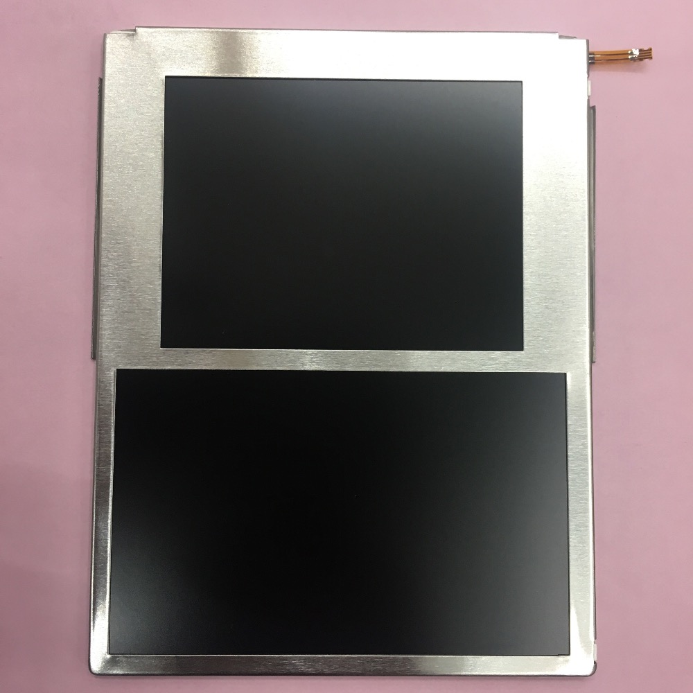100% original new lcd for 2ds lcd display + screen protector 1