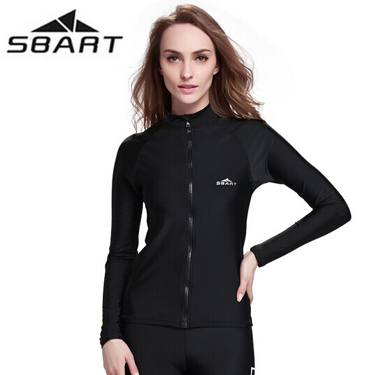 SBART new style, men women float diving suit anti-purple jellyfish quick-dry zipper snorkeling surfing anti-UV wetsuits sbart upf50 rashguard 2 bodyboard 1006