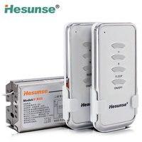 Y B22 2N1 220V Two Ways Wireless RF Remote Control ON OFF Switch 2 Remote Controllers