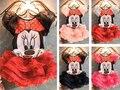 BD125 Frete grátis 2016 Meninas Do Bebê Conjuntos de Roupas de Verão Dos Desenhos Animados Crianças Terno Camiseta + Saia Crianças Conjuntos de Roupas de Varejo