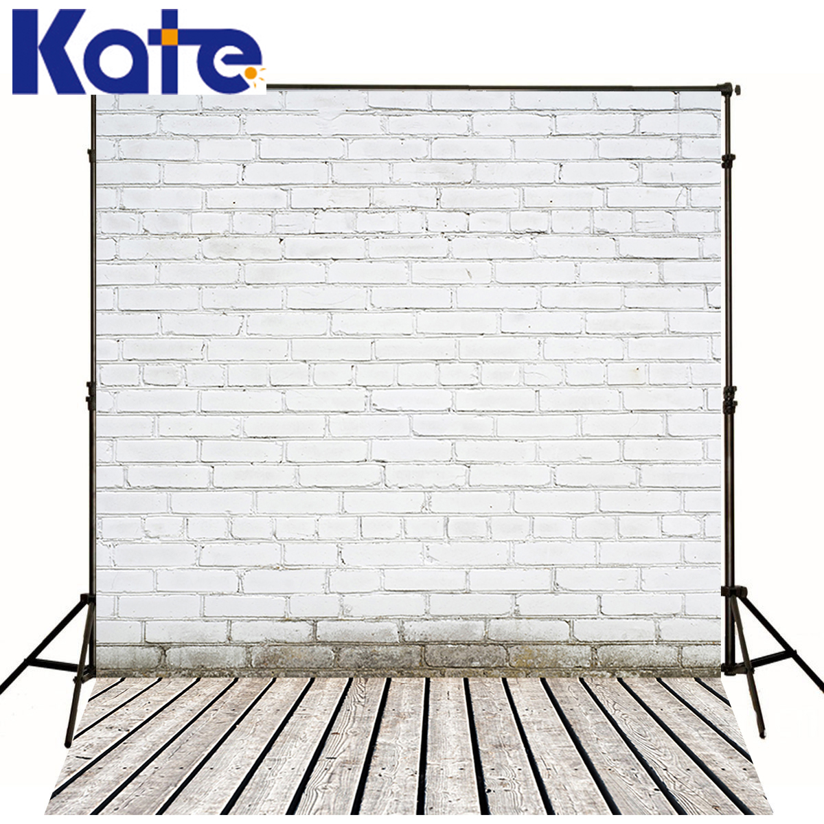Kate Newborn Baby Photography Backgrounds White Brick Wall Foto Achtergrond Kerst Wood Texture Floor Backdrop For Photo Studio