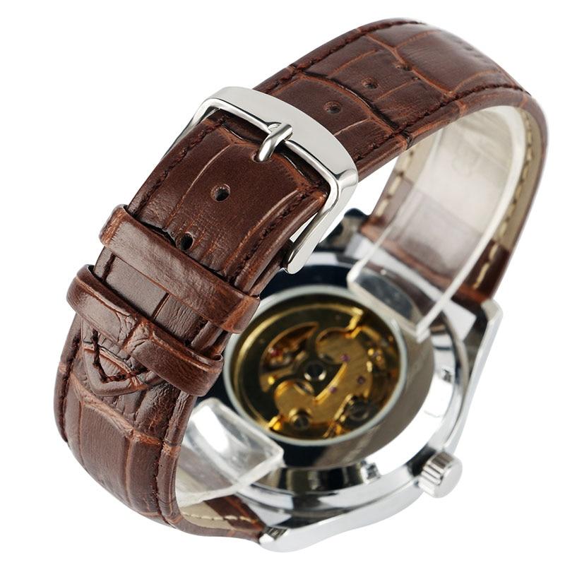 Relojes mecánicos automáticos de lujo de YISUYA Relojes analógicos - Relojes para hombres - foto 5