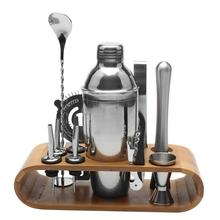 550 ml/780ml Stainless Steel Cocktail Shaker Bar Set Wine Martini Drinking Mixer Boston Style For Party Tool