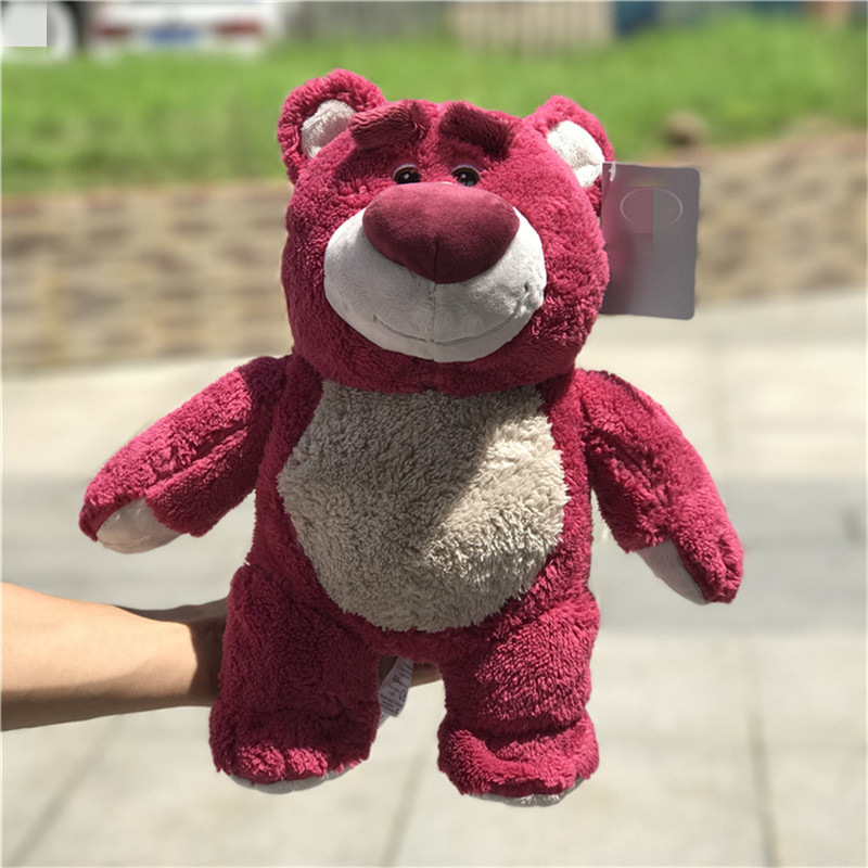 1 piece Toy Story Cute Strawberry Bear stuffed dolls Birthday Gifts in Movies TV from Toys Hobbies