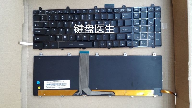 New notebook Laptop keyboard for MSI GE60 GE70 GT60 GT70 GX60 GX70 GT780 US  layout ru russian for msi ge60 gt60 ge70 gt70 16f4 1757 1762 16gc gx60 gx70 16gc 1757 1763 backlit laptop keyboard