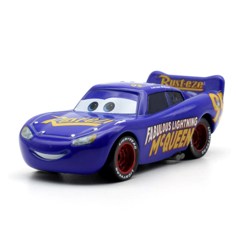 23 Style 1:55 Disney Pixar Cars 3 New Roles Lighting McQueen Miss Fritter Cruz Ramirez Metal Car Toys Child Birthdays Gift