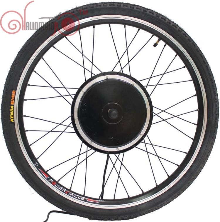 ConhisMotor 36V/48V 1000W 20inch-700c E-bike Driving Brushless Gearless Hub Motor+Rim+Spokes+Tyre Front Motorized Wheel