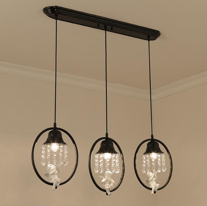 New cord pendant simple crystal chandelier single head bedroom aisle new cord pendant simple crystal chandelier single head bedroom aisle balcony entrance crystal small hanging lamps e27 in pendant lights from lights aloadofball Images