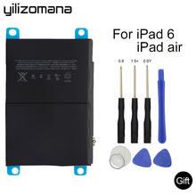 Оригинальный литий ионный аккумулятор yilizomana для ipad air