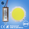 15W 20W 25W 30W COB led chip 76-60mm board panel for led bulb spotlight lamp+Waterproof AC110-240V input LED power supply driver