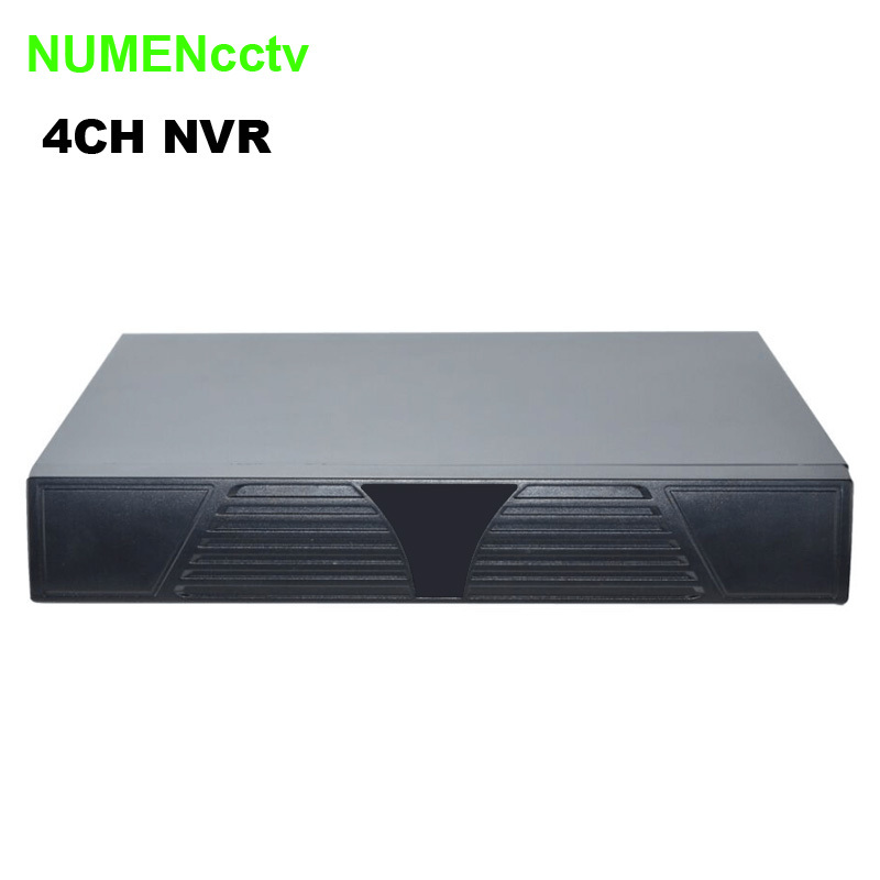 ONVIF 4CH Mini NVR Full 1080P Support P2P Cloud Service Mobile HDMI H.264 4 channel network video recorder easy for IP Camera 4ch mini nvr 1080p network video recorder supper mini cctv ip camera nvr support onvif p2p smartphone view hdmi plug and play