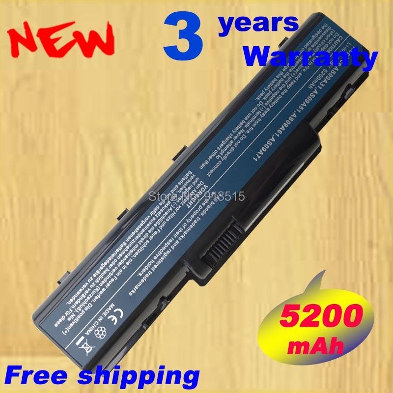 New 5200 mah batterie pour Acer Emachines D520 D725 E525 E725 E625 G620 G627 G725