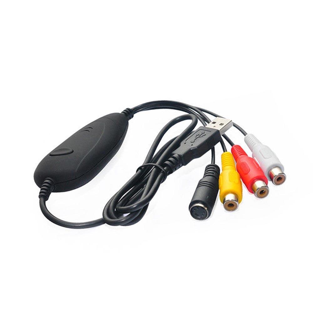 Nuovo Arrivo USB 2.0 Audio Video VHS TO DVD Converter Adapter Scheda di Acquisizione Win7 Win8 Win10 EM88