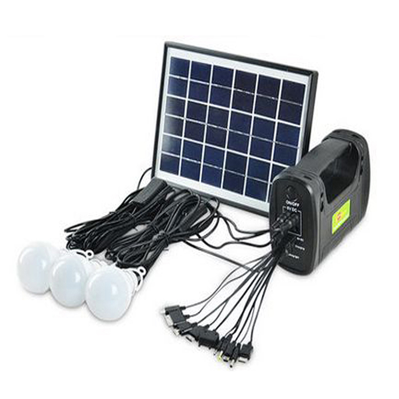 Charming Solar Panel With Led Light Part - 13: Aliexpress.com : Buy Solar Generator Kits Solar Panel Camping Lighting  Portable Mobile Powerbank Hand Lamp Light For Emergency Fishing Hiking RV  From ...
