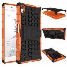 Ударостойкой Case Люкс Жесткого Пластика ТПУ Гибридный Броня Case Для Sony Ericsson Z5 Г 5 МИНИ Компактный premum Тонкий Мобильный Телефон Shell