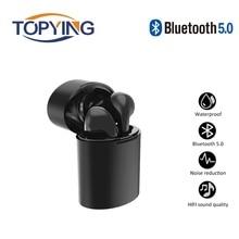Wireless Bluetooth Earphone TWS X10 In-Ear Wireless Headphone Earbuds Portable Sports Music Mini Earpiece with Charging Box недорого