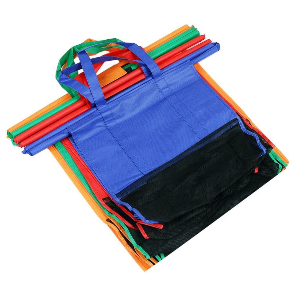 Gepäck & Taschen Abdb-4pcs/set Warenkorb Trolley Taschen Faltbare Wiederverwendbare Einkaufstasche Eco Supermarkt Tasche Einfach Zu Bedienen Und Schwere Duty