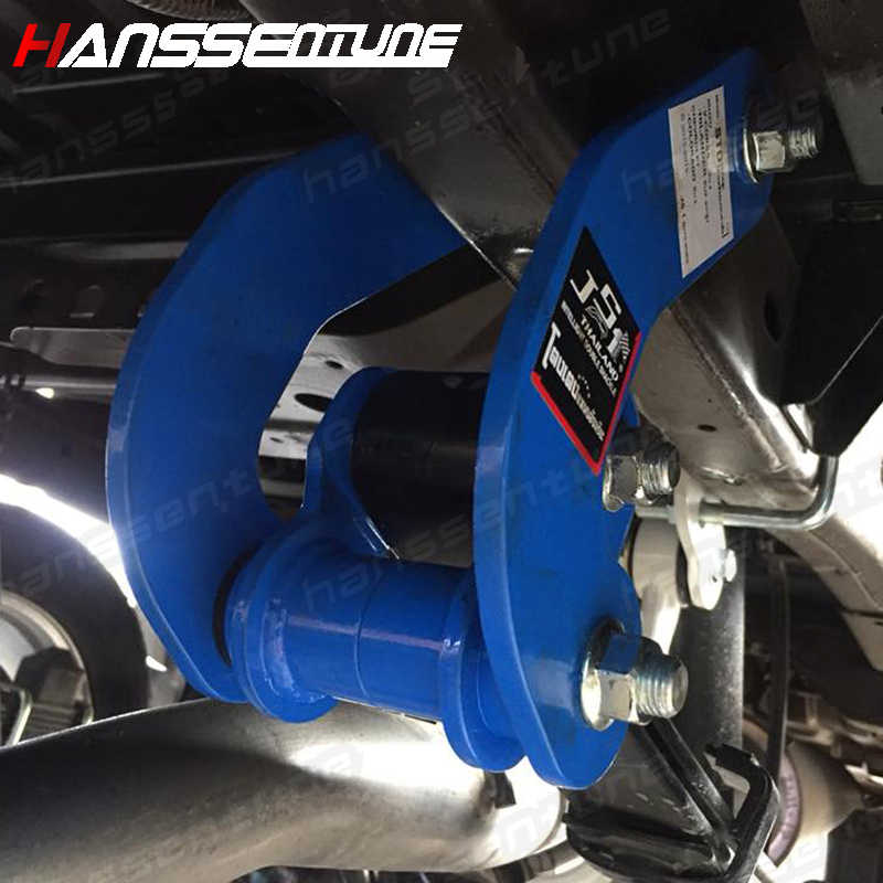 "Hanssentune 4X4G-Shackle Lift Kit Daun Musim Semi Extended 2 ""Tinggi Pickup Plate Lifting Lug Kit untuk Baru D-MAX/Colorado 2012 +"