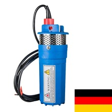 New Farm & Ranch Solar Powered Submersible DC Water Well Pump 12V 230FT+ Lift,Shipping From Germany