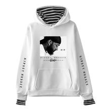 Harajuku hoodies Rep nipsey hussle Print Fake Two Pieces Hoodies 2019 New Hot Sale Autumn Women Sweatshirts hooded Plus Size