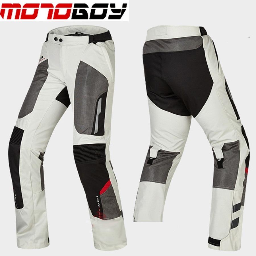 Livraison gratuite 1 ensemble hommes été Mesh respirant réfléchissant pantalon Moto Racing costume Motocross tout-terrain Moto veste et pantalon - 6